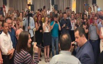 Ο Σέρβος υπουργός Εξωτερικών τραγουδά ελληνικό άσμα