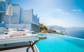 Μειωμένη η πληρότητα στα ελληνικά ξενοδοχεία