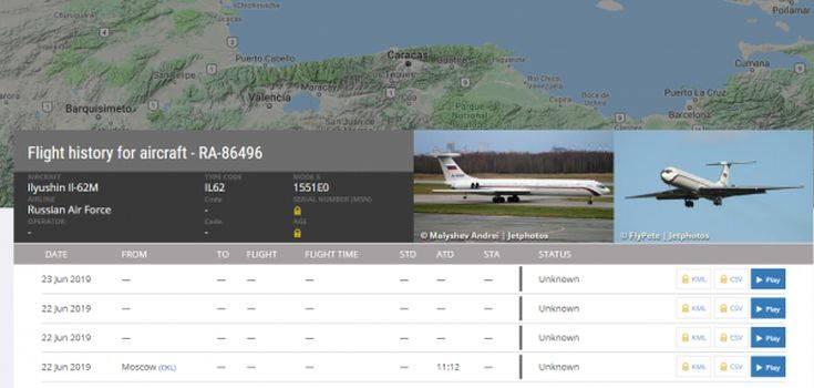 Μυστήριο με αεροσκάφος της ρωσικής Πολεμικής Αεροπορίας στη Βενεζουέλα