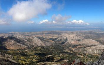 To Όρος και το Σπήλαιο του Δία στη Νάξο