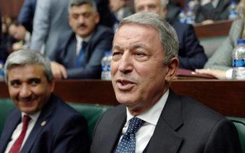 Νέο «χτύπημα» του Τούρκου υπουργού Άμυνας για «μπλε πατρίδα», Αιγαίο και Κύπρο