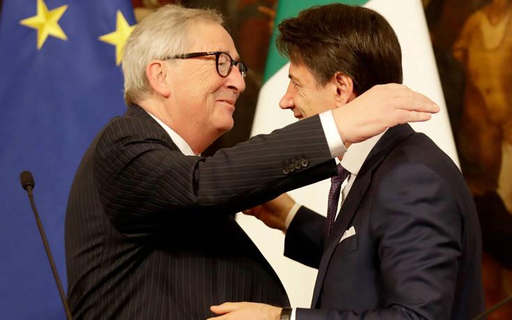 Ζαν-Κλοντ Γιούνκερ: Η Ιταλία κινείται προς επισφαλή κατεύθυνση