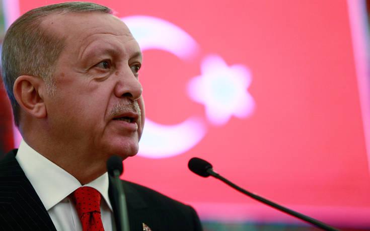 Ερντογάν: Τι δικαιώματα έχουν οι ΗΠΑ στην Aνατολική Μεσόγειο;