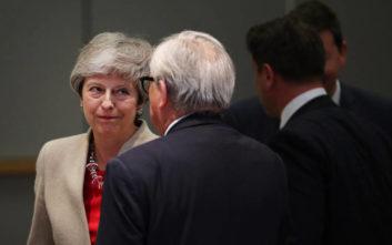 Γιούνκερ: Όχι στην επαναδιαπραγμάτευση της Συμφωνίας Αποχώρησης με τη Βρετανία