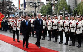 ΝΑΤΟ σε Σκόπια: Είμαστε έτοιμοι να σας καλωσορίσουμε