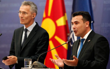 Ο ΓΓ του ΝΑΤΟ θέλει τα Σκόπια πλήρες μέλος του ΝΑΤΟ πριν από το τέλος του 2019