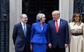 Σίγουρος ο Τραμπ για συμφωνία με τη Βρετανία για τη Huawei