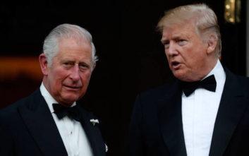 Ο Τραμπ μετέτρεψε τον Κάρολο σε «Πρίγκιπα των Φαλαινών»