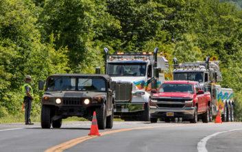 Ένας νεκρός και 22 τραυματίες σε δυστύχημα με όχημα μεταφοράς προσωπικού στο Γουέστ Πόιντ