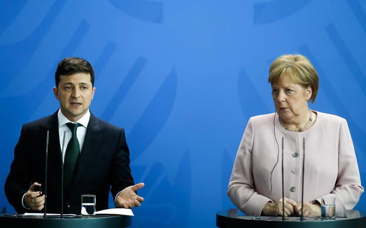 Συμφωνία Γερμανίας-Ουκρανίας για τις κυρώσεις κατά της Μόσχας