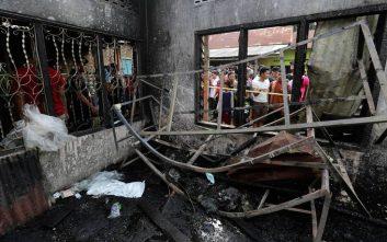 Φωτιά σε βιοτεχνία σπίρτων με τουλάχιστον 30 νεκρούς στην Ινδονησία