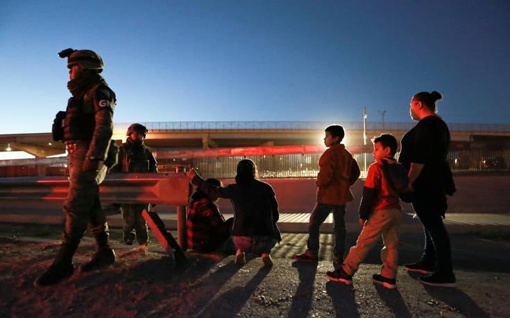 «Το Μεξικό δεν θα συλλαμβάνει τους μετανάστες που διασχίζουν τα σύνορα με τις ΗΠΑ»