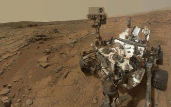 Βρέθηκαν μεγάλες ποσότητες μεθανίου στον Άρη