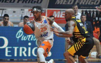 Basket League: Εξαιρετικός Προμηθέας «λύγισε» την ΑΕΚ και έκανε το 1-1 στη σειρά
