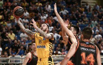 Basket League: Σαρωτική η ΑΕΚ κόντρα στον Προμηθέα, έκανε το 2-1 στη σειρά