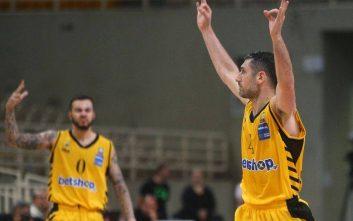 Καθάρισε ο Ξανθόπουλος για την ΑΕΚ, 91-83 το Περιστέρι