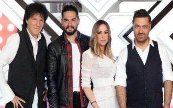 X-Factor: Οι κριτές φωτογραφήθηκαν για πρώτη φορά μαζί