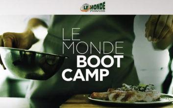 LE MONDE Bootcamp, ζήσε την απόλυτη γαστρονομική εκπαιδευτική εμπειρία