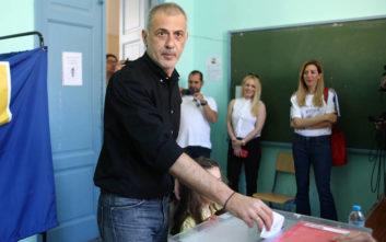 Δημοτικές Εκλογές 2019: Ψήφισε ο Γιάννης Μώραλης