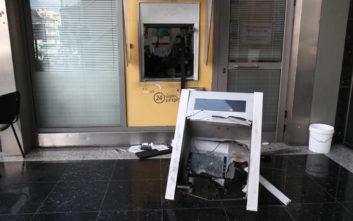Έκρηξη τα ξημερώματα σε ΑΤΜ τράπεζας στον Άγιο Δημήτριο