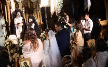 Ο πρώτος γάμος στο Λύρειο Ίδρυμα μετά τις φονικές πυρκαγιές