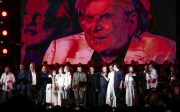 Μίκης Θεοδωράκης: Η μεγάλη συναυλία στο Καλλιμάρμαρο και το μήνυμα ενότητας των Ελλήνων