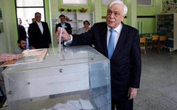 Εκλογές 2019: Δεν έκανε δηλώσεις ο Προκόπης Παυλόπουλος