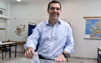Εκλογές 2019: Ψήφισε ο Αλέξης Τσίπρας