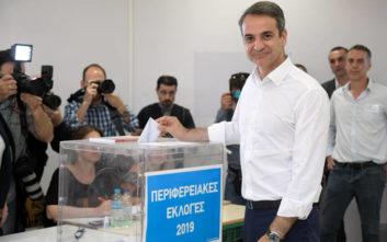 Εκλογές 2019: Καλή ψήφο ευχήθηκε ο Κυριάκος Μητσοτάκης