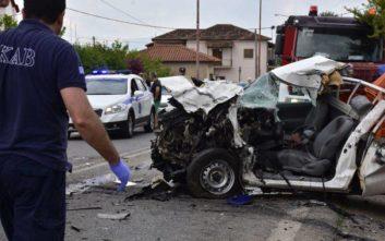 Σοβαρό τροχαίο με νεκρό στην Αργολίδα, φορτηγό συγκρούστηκε με αγροτικό
