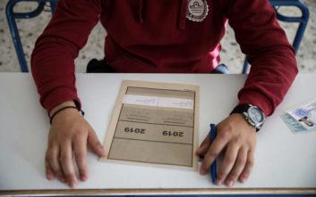 Πανελλήνιες 2019: Σε αρχαία και μαθηματικά διαγωνίζονται σήμερα οι μαθητές