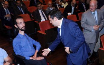 Όταν ο Αλέξης Τσίπρας συνάντησε τον Στέλιο Κυμπουρόπουλο