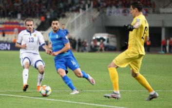 Ελλάδα-Αρμενία: Μεγάλο κάζο για την Εθνική, ήττα 2-3 και η πρόκριση γίνεται... βουνό
