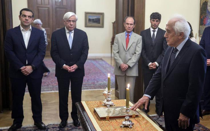 Εθνικές εκλογές 2019: Ορκίστηκε υπηρεσιακός υπουργός Εσωτερικών ο Αντώνης Ρουπακιώτης