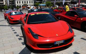 Πλημμύρισε με Ferrari η Κέρκυρα
