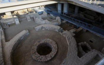 Πρώτη μέρα λειτουργίας της ανασκαφής στο Μουσείο Ακρόπολης