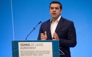 Πέφτουν οι υπογραφές για έρευνες υδρογονανθράκων στην Κρήτη