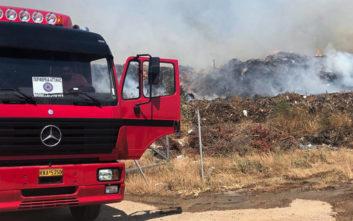 Πυρκαγιά σε δύσβατη δασική περιοχή στο Μουρίκι Καλαβρύτων