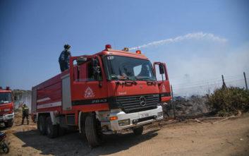 Φωτιά στην περιοχή του Αράξου στη δυτική Αχαΐα