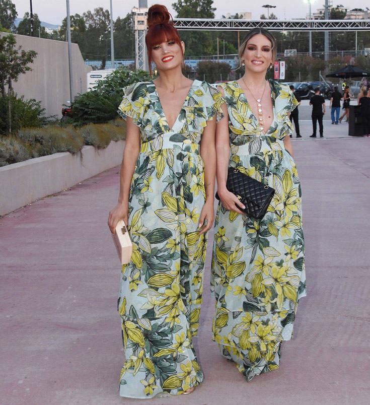 Μαίρη Συνατσάκη και Αθηνά Οικονομάκου με το ίδιο φόρεμα στα βραβεία MAD – Newsbeast