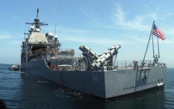 Παραλίγο σύγκρουση ρωσικού και αμερικανικού πολεμικού πλοίου