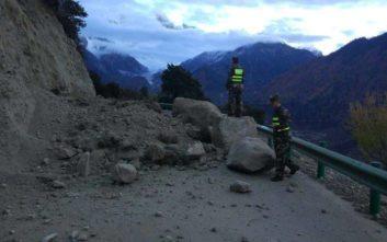 Τουλάχιστον 19 τραυματίες από σεισμό σε επαρχία της Κίνας