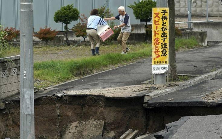 Ισχυρός σεισμός έπληξε τις ακτές της Ιαπωνίας