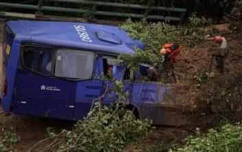 Πολύνεκρο δυστύχημα με λεωφορείο στη Βραζιλία
