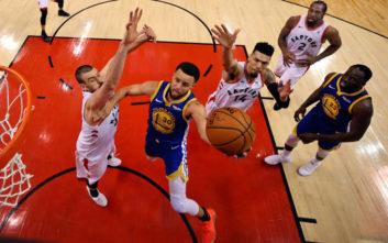 NBA: Οι Ουόριορς άντεξαν, έκαναν το break στο Τορόντο και μείωσαν σε 3-2