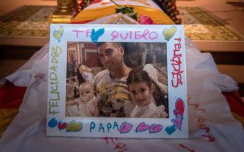 Το αντίο της συζύγου του Χοσέ Αντόνιο Ρέγες: Μου πήρες την όρεξη να ζήσω