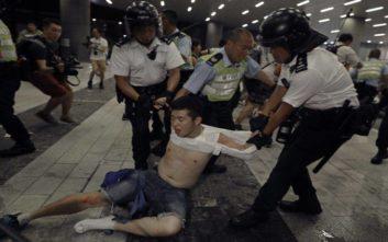 «Χάος» στο Χονγκ Κονγκ κατά νομοσχεδίου έκδοσης υπόπτων στο Πεκίνο