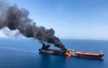 Χαντ: Είμαι σχεδόν σίγουρος πως το Ιράν είναι πίσω από τις επιθέσεις στη Θάλασσα του Ομάν