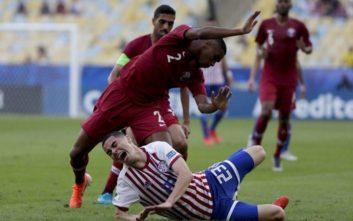 Κόπα Αμέρικα: Πήρε την ισοπαλία το Κατάρ με επιστροφή από το 2-0 της Παραγουάης