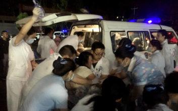 Κίνα: Τουλάχιστον 12 νεκροί και 134 τραυματίες από τον ισχυρό σεισμό